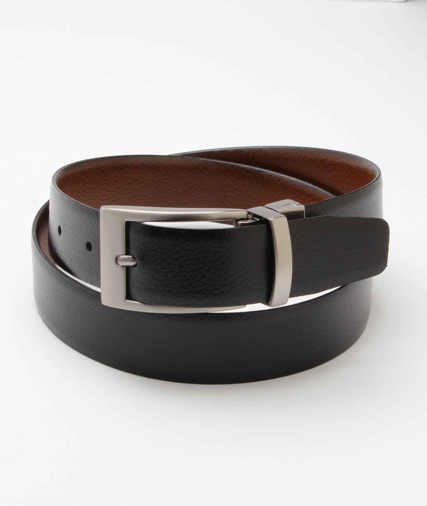 Black Paul Lawrence Boys Genuine Leather Belt